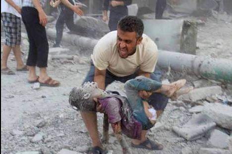 Foto tomada después de que Francia bombardeara Siria. Estaba claro que iban a por el ISIS.